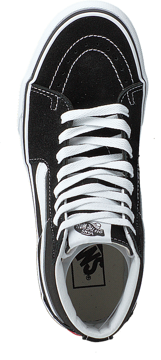 Ua Sk8-hi Platform 2.0 Black/true White