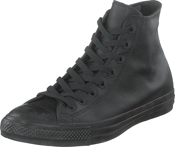 Converse - Chuck Taylor Black Mono Leathe Black