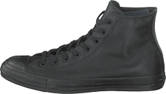 Chuck Taylor Black Mono Leathe Black