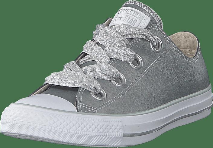 Converse Ct All Star Big Eylets silver gråa Skor Online