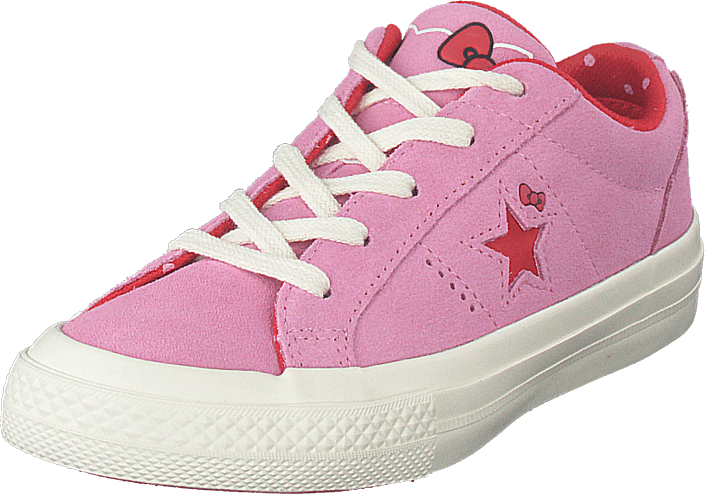 Converse - One Star Ox Prism Pink/fiery Red/egret