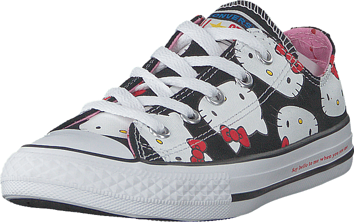 Converse - Chuck Taylor All Star Ox Black/prism Pink/white