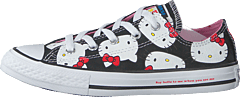 Chuck Taylor All Star Ox Black/prism Pink/white