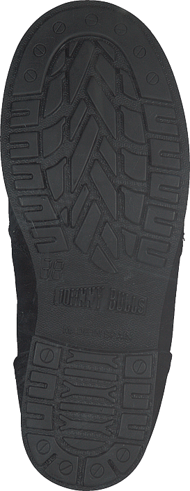 Boot Silver Zip Kjøp Lining Bulls Sorte Mid Black Online Sko Warm shiny Boots Johnny rSzSWRI