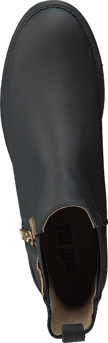 Johnny Bulls - Low Chelsea Boot Black/shiny Gold