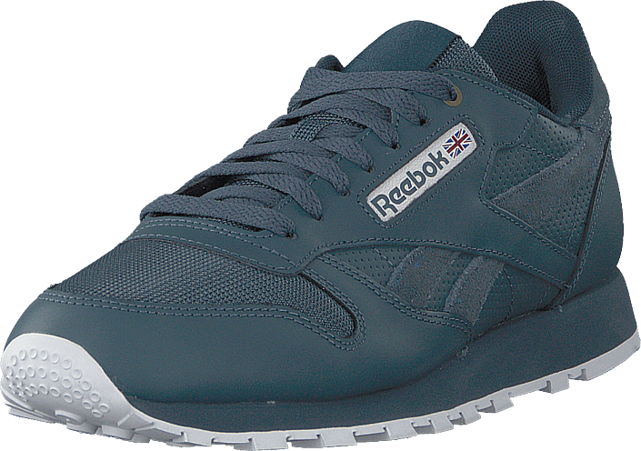 fa3436e88c8 Buy Reebok Classic Cl Leather Mu Deep Sea mt Fuji whit blue Shoes ...
