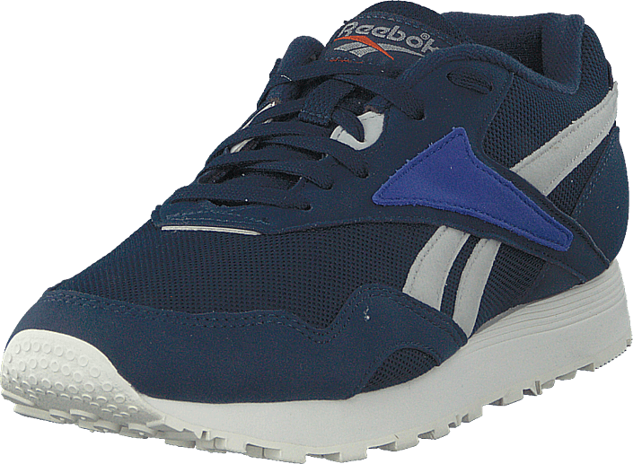 26e3acf03f1 Buy Reebok Classic Rapide Mu Navy skull Grey blu c blue Shoes Online ...