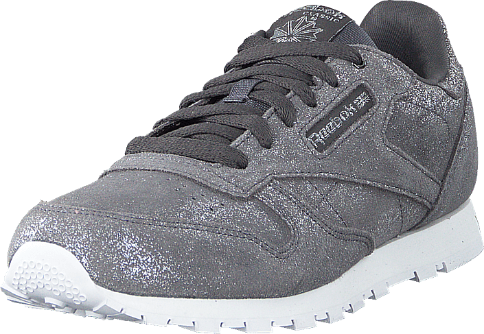 Reebok Classic - Classic Leather Pewter/ash Grey/white