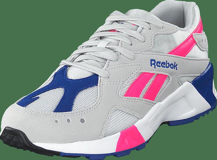 Buy Reebok Classic Aztrek Grey acid Pink royal  grey Shoes Online ... 1fd4b439a