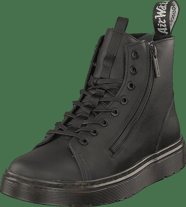 Dr Grises Talib Black Zip Martens Online Chaussures Acheter dBPXqwX