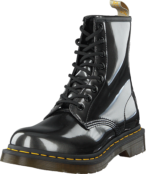 Dr Martens - 1460 Vegan Chrome Gunmetal