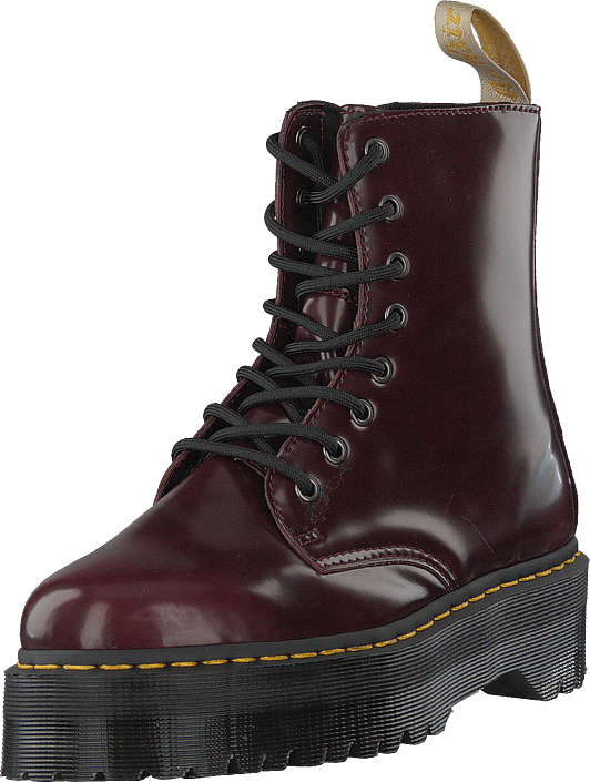 15be0425a686cc Buy Dr Martens Jadon Vegan Cherry Red brown Shoes Online