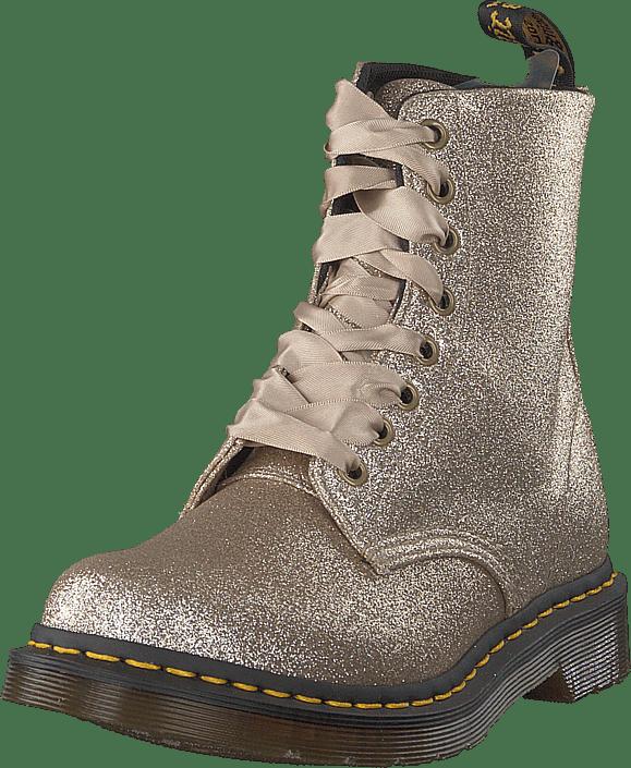 Dr Martens - 1460 Pascal Glitter Pale Gold