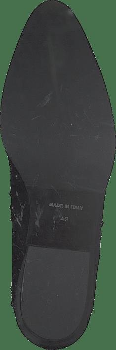 Rivet Flat Boot Terry Nero, Rivets Fucile