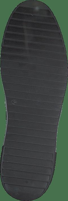 A Pair - Classic Slip On White Detail Parma Nero