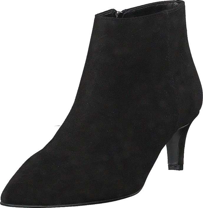 A Pair - Pointed Low Fine Heel Amalfi Nero