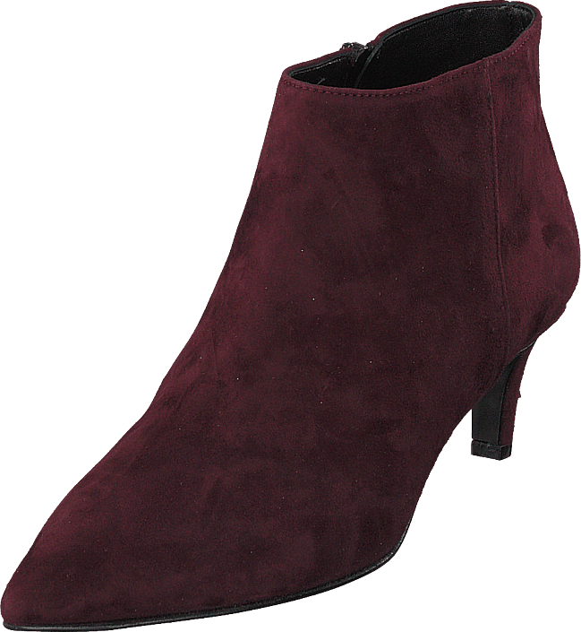 A Pair - Pointed Low Fine Heel Amalfi Bordo