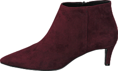 Pointed Low Fine Heel Amalfi Bordo