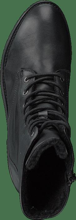 Kjøp Bianco Laced Up Boot W/wool Ond18 100-black Sko Online