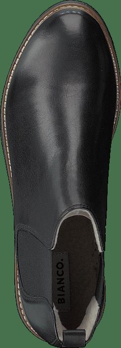 Kjøp Bianco Bfagnes Leather Chelsea Ond18 100-black Sko Online