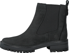 Cormayeur Valley Chelsea Black Nubuck