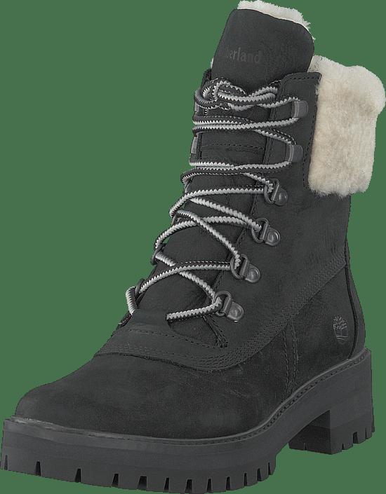 "Timberland - Courmayeur Valley 6"" Shearling Black Nubuck"