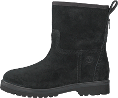 Chamonix Valley Jet Black Suede