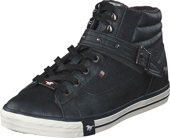 Mustang - High Top Sneaker Navy