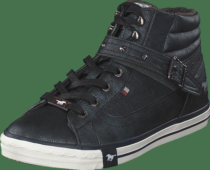Mustang - High Top Sneaker Navy