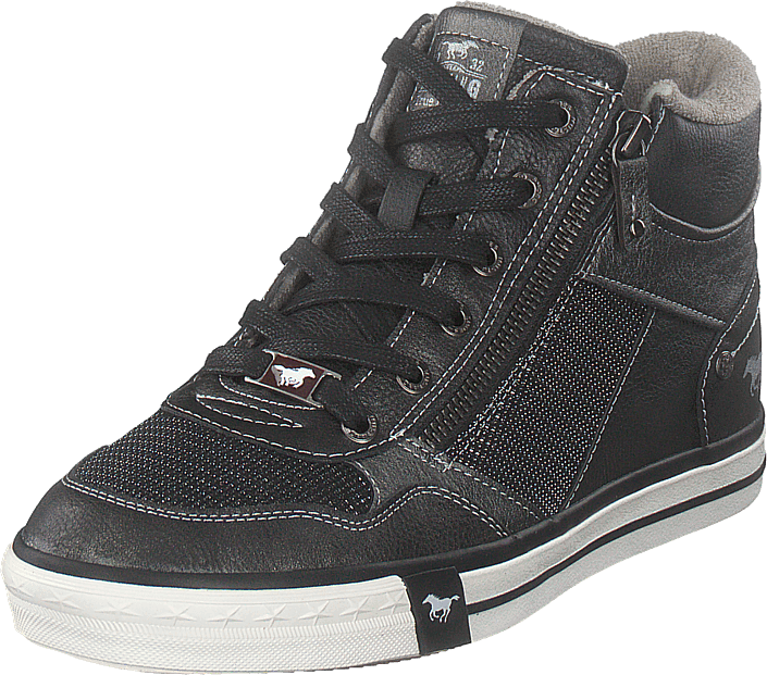 Mustang - High Top Sneaker Graphit