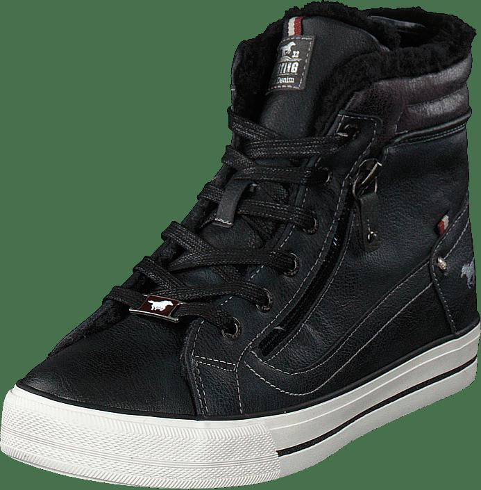 Mustang - High Top Sneaker Graphit