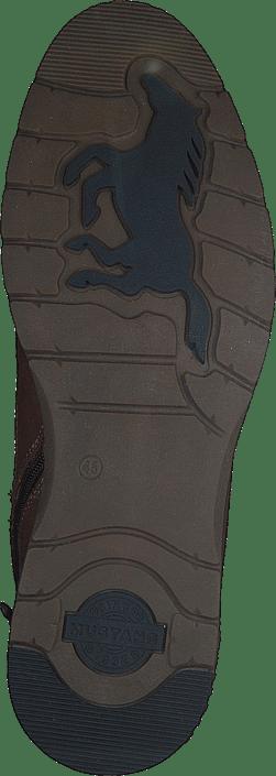 Schnür-boot Kastanie
