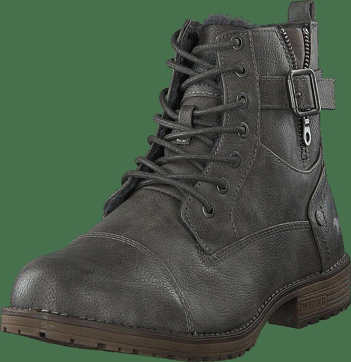 Mustang Boot Dunkelgrå gråa Skor Online