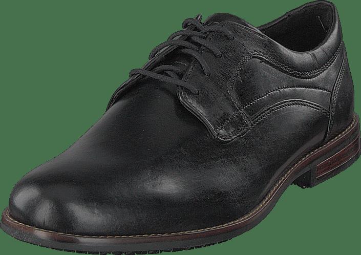 Dustyn Plain Toe Black