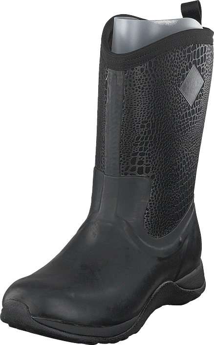 Muckboot - Lady Weekend Black/croc