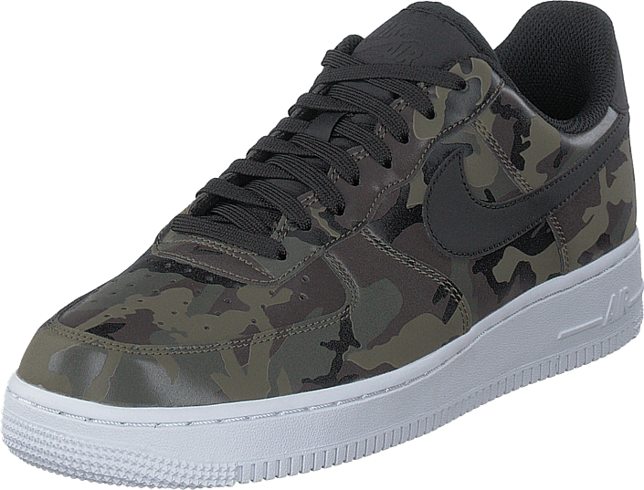 new styles 12d32 931d7 Køb Nike Air Force 1 ´07 Lv8 Camo/black/white grå Sko Online ...