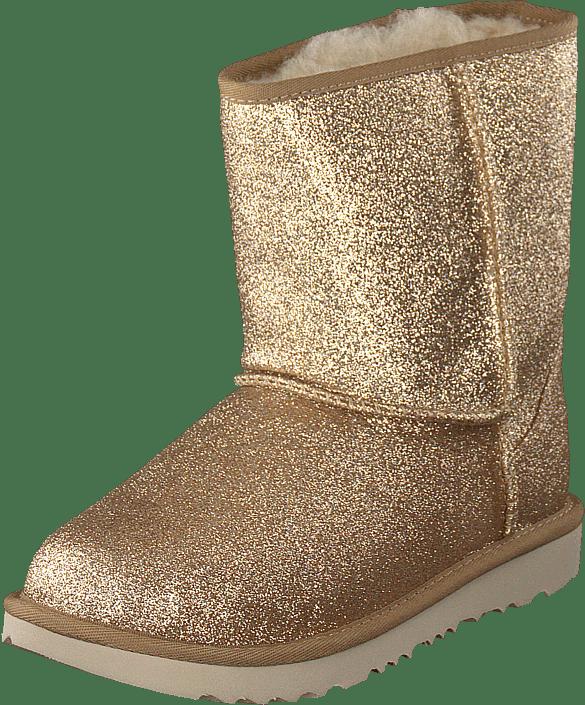 Classic Short Ii Glitter Gold