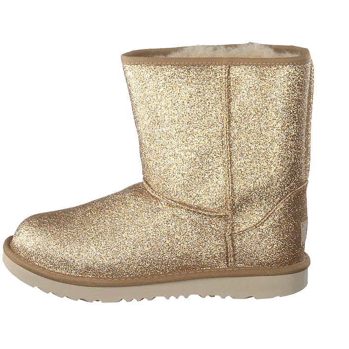 4823b75ddf91 Buy UGG Classic Short Ii Glitter Gold brown Shoes Online | FOOTWAY.co.uk