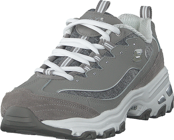 c578cc415a4f Buy Skechers D'lites Biggest Fan Gyw grey Shoes Online | FOOTWAY.co.uk