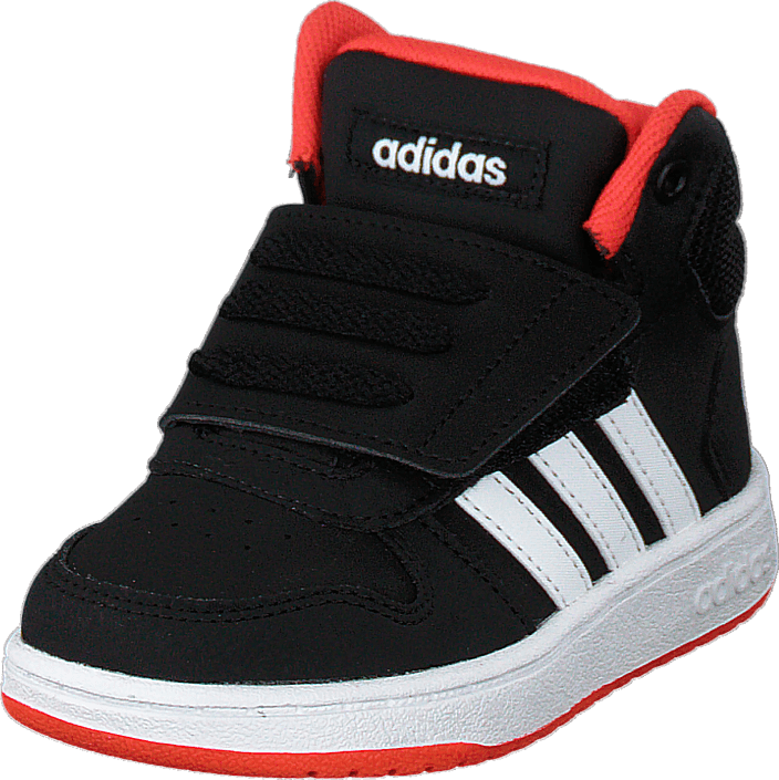 adidas Originals - Hoops Mid 2.0 I Black/white/red
