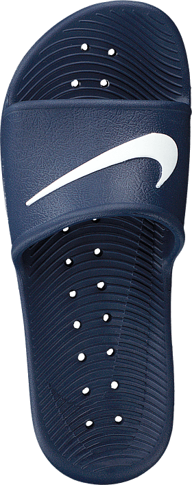 Kjøp Nike Kawa Shower Slide Navy/white Sko Online