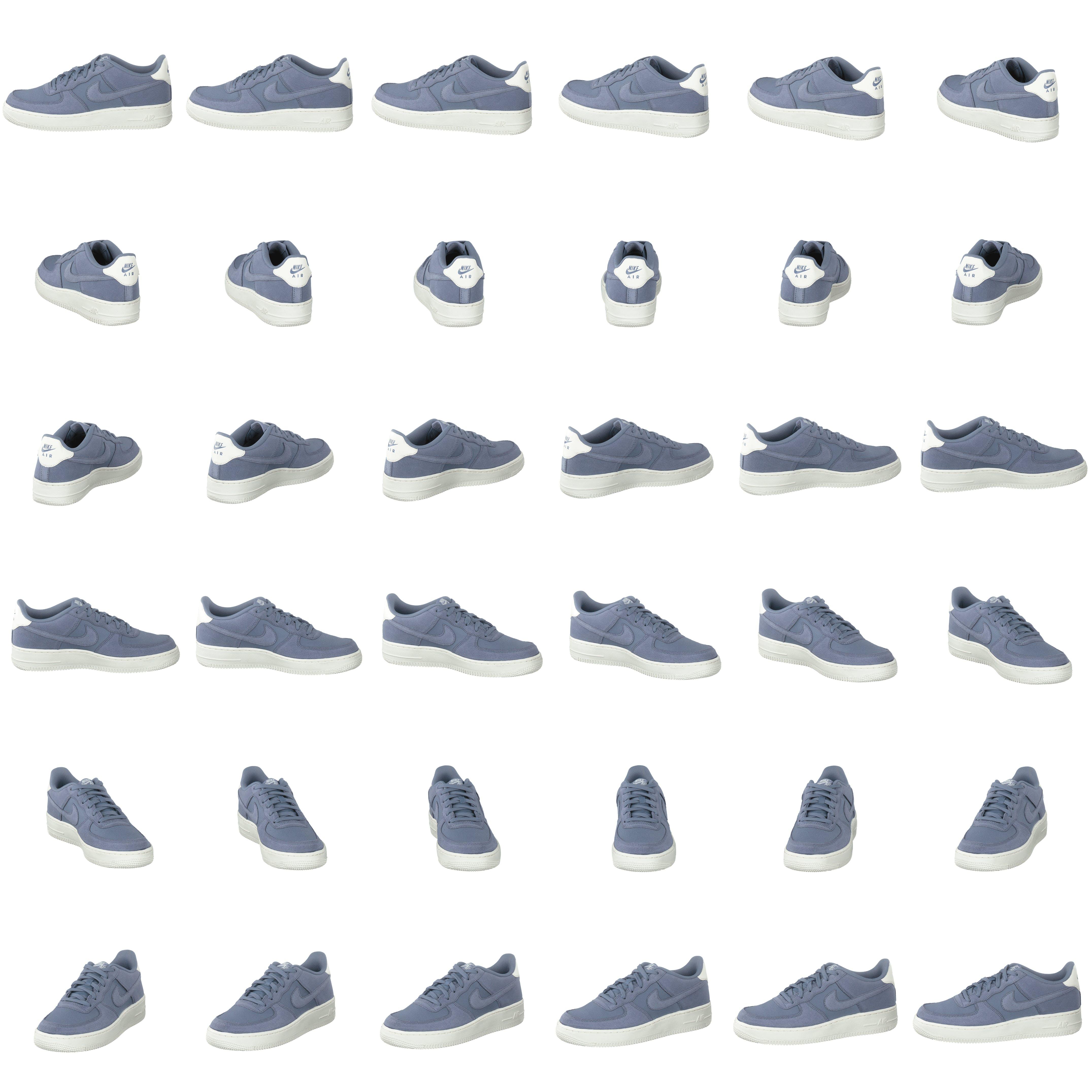 Nike Air Force 1 Suede Bg Ashen Slateashen Slate sail