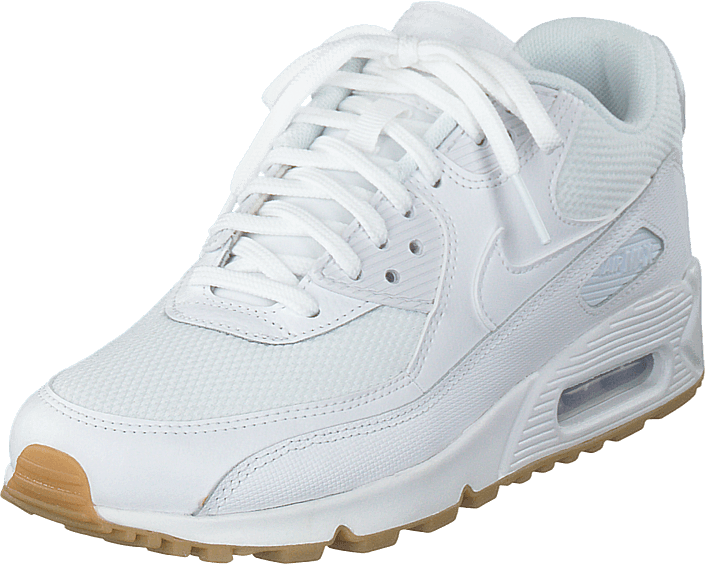 Wmns Air Max 90 White gum Light Brown