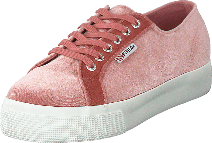 Superga - 2730 Velvet Chenille W Pink Dusty Rose Xba