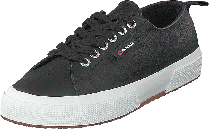 Superga - 2750 Fglu Black- White C39