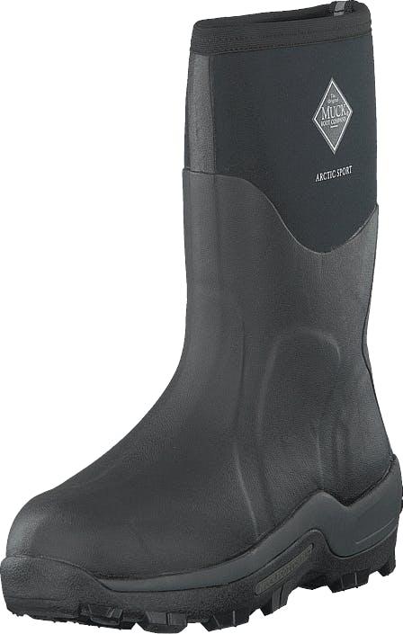 Muckboot Arctic Sport Mid Black, Skor, Stövlar & Stövletter, Höga gummistövlar, Grå, Unisex, 41