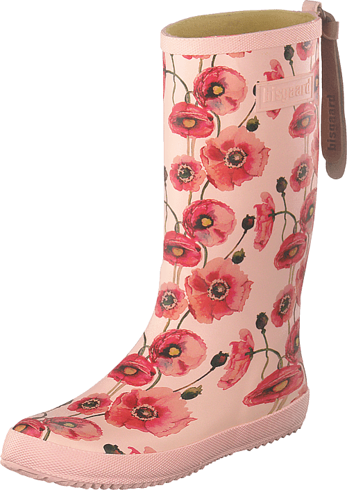 Bisgaard - Fashion Rubberboot Nude Flowers
