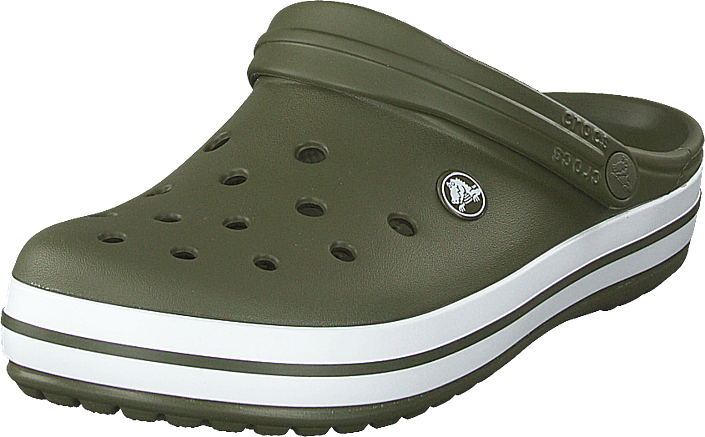 Crocs - Crocband Army Green/white