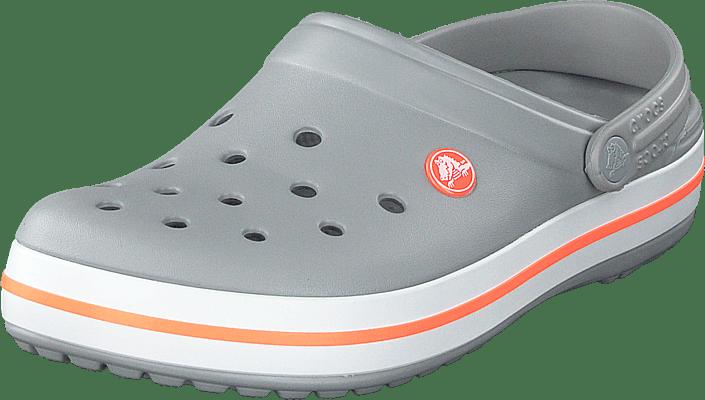 Crocs - Crocband Light Grey/bright Coral
