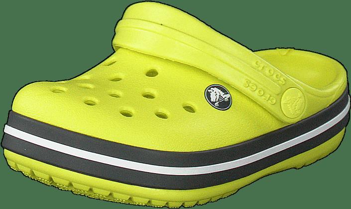 Crocs - Crocband Clog K Citrus/slate Grey